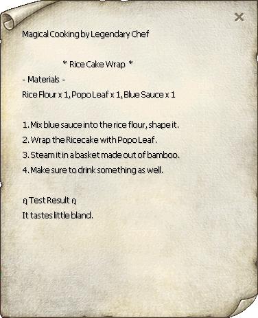 Rice Cake Wrap Recipe