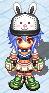 Hat Black Rabbit Cap Equip