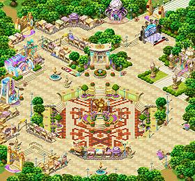 Map Megalopolis Square