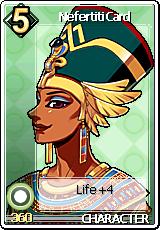 Card Nefertiti Card
