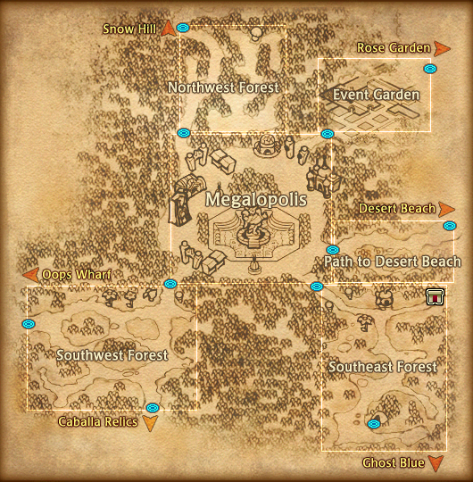 Map Megalopolis Detail