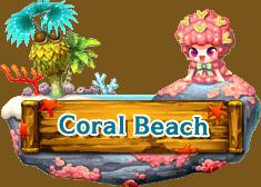 Logo Coral Beach