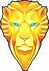 Shield Golden Lion Shield