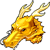 Hat Gold Dragon Helmet
