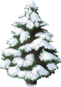 Monster Snow Pine Tree
