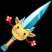 Weapon Tenterpaws' Sword
