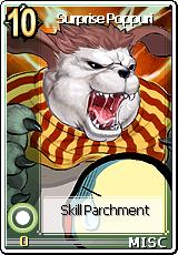 Card Surprise Poppuri Skill Card
