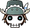 Hat Big Skull Head