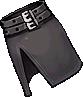 Fashion Black Chanel Skirt