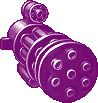 Gun Super Perforator 300 Violet