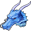 Hat Blue Dragon Helmet