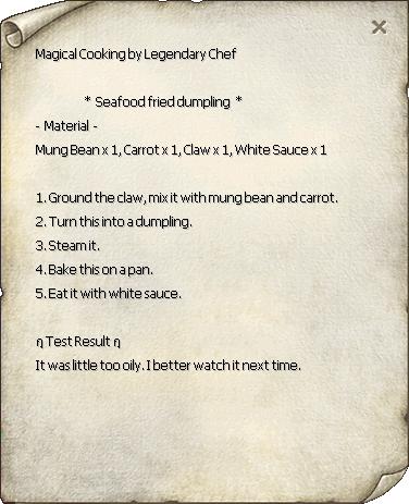 Seafood Fried Dumpling Recipe