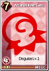 Card Arcana Brave Card