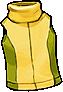 Fashion Yellow Sleeveless Shirt