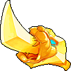 Weapon Golden Sword