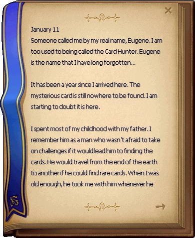 Card Hunter's Diary 1