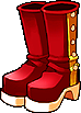Fashion Red Heel Boots