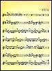Item Yellow Musical Score