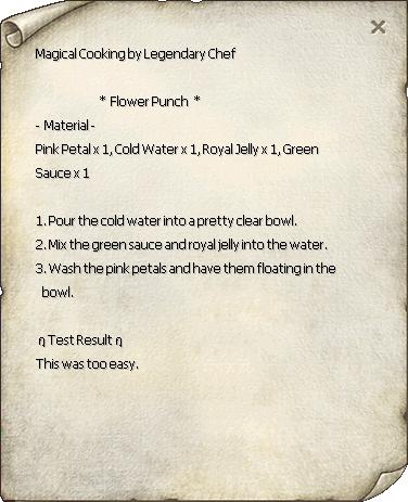 Flower Punch Recipe