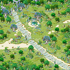 Minimap Alteo Empire Field 1 - Secret Garden