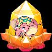 Box Charm Baby Elephant Crystal