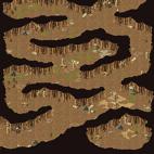 Minimap Caballa Relics Dungeon 3