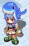 Hat Blue Whale Hat Equip