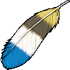 Item Blue Feather