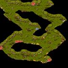 Minimap Poppuri Dungeon - Spore Cave