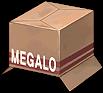 Hat Megalo Cardboard