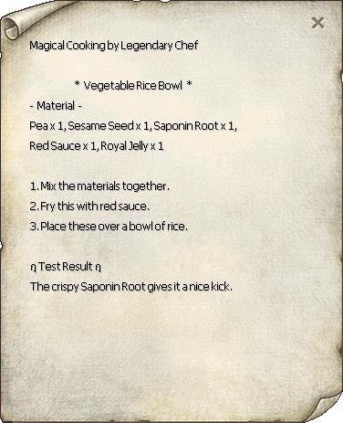 Vegetable Rice Bowl Recipe