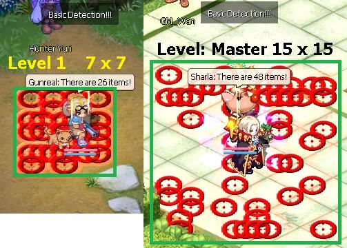 Skill Basic Detection Area