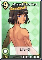 Card Pharaoh Boy Card