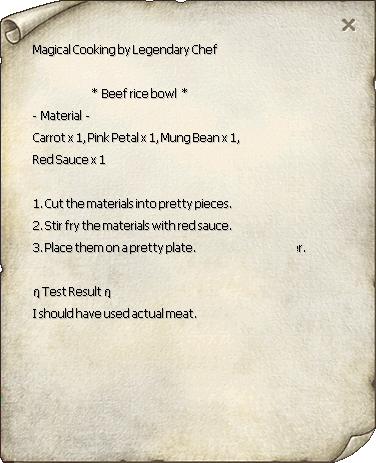 Beef Rice Bowl Recipe