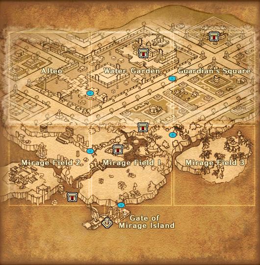 Map Mirage Island Detail