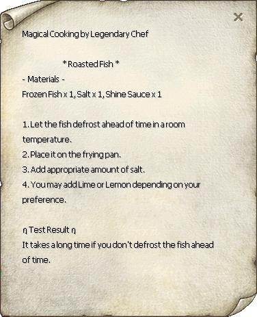 Roasted Fish Recipe