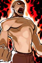 Skill Flaming Fist Big