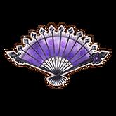 Dark Violet Fan