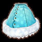 Fluffy Snow Skirt