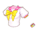 Pink Star Sailor Top