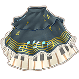 Charcoal Forte Skirt (1)