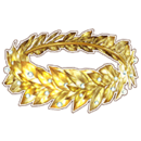 Gold Laural Crown