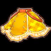 Yellow Girly Skirt