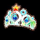 Marine Blue Tiara