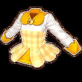Yellow Girly Tops
