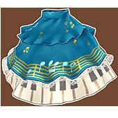 Blue Forte Skirt