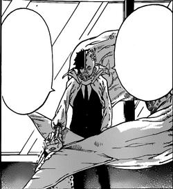 Isana holds him under death