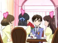 Haruhi's regular guests