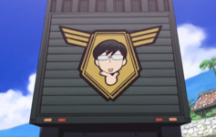 Kyoya's face on the ootori elbelm