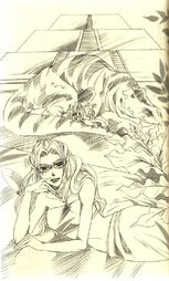 Ayame in graphic novel